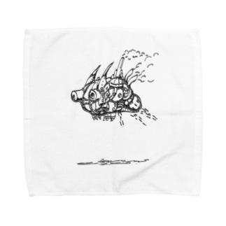 ブーン。 Towel handkerchiefs
