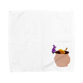 Danke Shoot Coffeeのホットワインの仕込み Towel handkerchiefs
