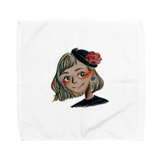 華麗 Towel handkerchiefs