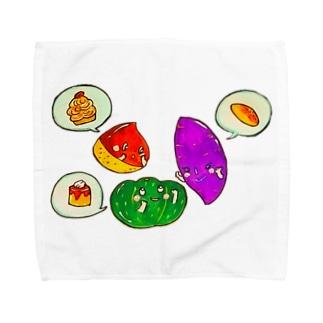 いもくりなんきん★女子会 Towel handkerchiefs