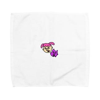 ねじとおばけ Towel handkerchiefs
