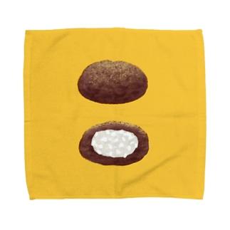おはぎ Towel handkerchiefs