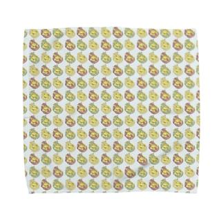 アルマジロチェック Towel handkerchiefs