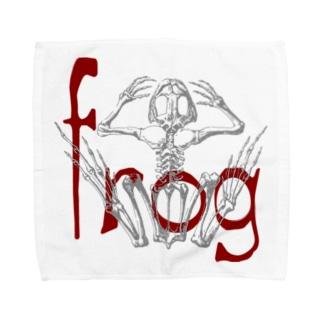 frog Towel handkerchiefs
