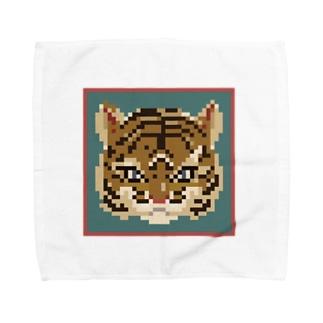 tora/pixel Towel handkerchiefs