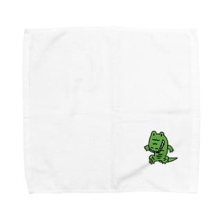 わに Towel handkerchiefs