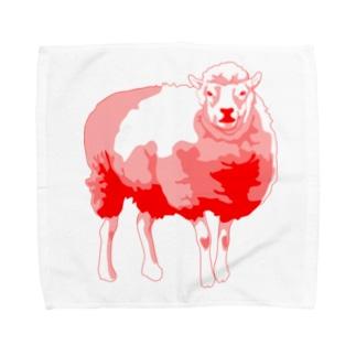 Go Go HenryのGo Go ヒツジ Towel handkerchiefs