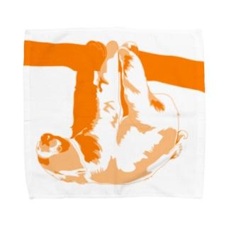 Go Go ナマケモノ Towel handkerchiefs