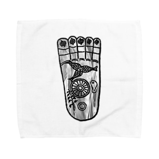 仏足散華 Towel handkerchiefs
