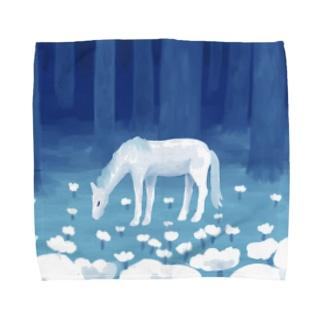 静かな森 Towel handkerchiefs