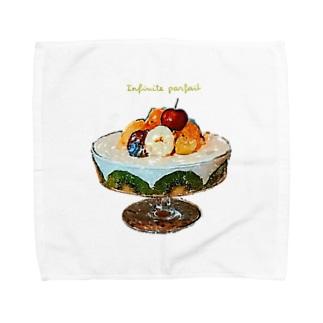 無限パフェ Towel handkerchiefs
