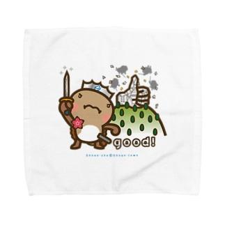 邑南町ゆるキャラ:オオナン・ショウ『Silver-good!』 Towel handkerchiefs