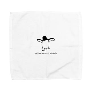 足が冷たいペンギン Towel handkerchiefs