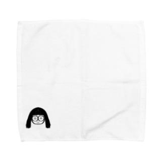 でっぱちゃん Towel handkerchiefs
