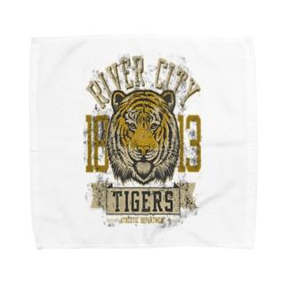 1813 River City Tigers Athletic Department Towel handkerchiefs