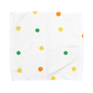 mixvegetable(生成り) Towel handkerchiefs