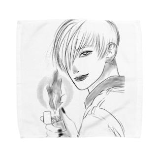 lighter boy Towel handkerchiefs
