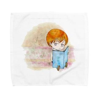 プロングホーン Towel handkerchiefs