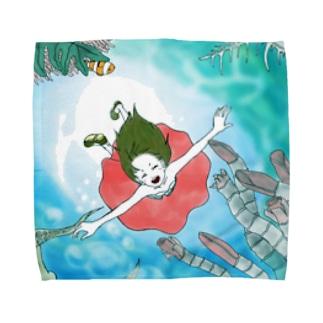 輪廻転生 Towel handkerchiefs