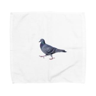行方不明のドバト Towel handkerchiefs