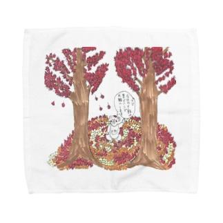 コアラの太郎 食欲の秋2018 Towel handkerchiefs