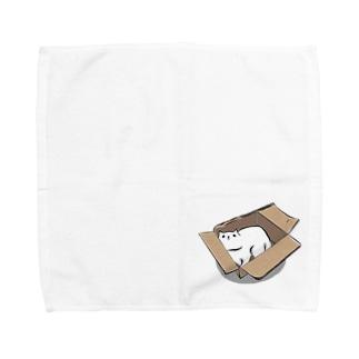 段ボールが好き。 Towel handkerchiefs