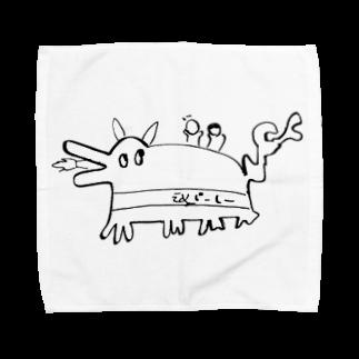 スタジオえどふみ オフィシャルショップの古川未鈴(でんぱ組.inc)作『スフォイクス』(Ver.1.1) タオルハンカチ