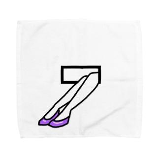 のぞくあし Towel handkerchiefs