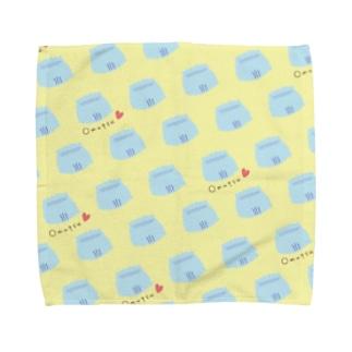 オムツパレード イエロー Towel handkerchiefs