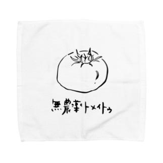 無農薬トメイトゥ Towel handkerchiefs
