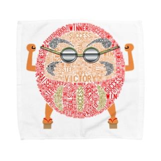 縁起だるま君 Towel handkerchiefs