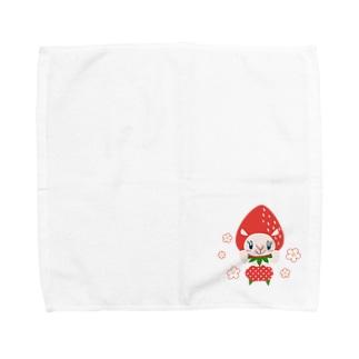 いちごアルム君 Towel handkerchiefs