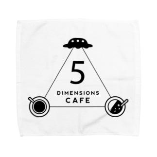 5次元カフェ(D)bk Towel handkerchiefs