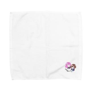 のあとうぃん Towel handkerchiefs