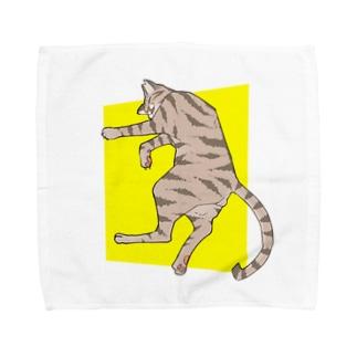 ぐっすり猫 Towel handkerchiefs
