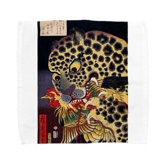 歌川広景 Towel handkerchiefs