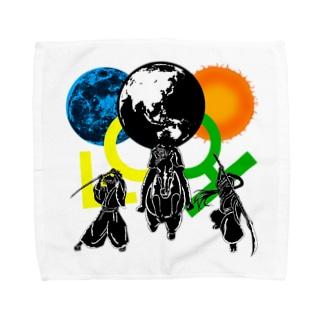 合戦である! Towel handkerchiefs