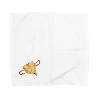 アジフライ Towel handkerchiefs