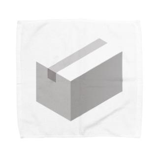 cardboard-box-mono Towel handkerchiefs