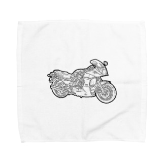 カワサキ・GPZ900R Towel handkerchiefs