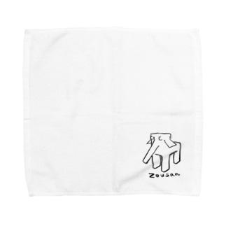 しかくいぞうさん Towel handkerchiefs