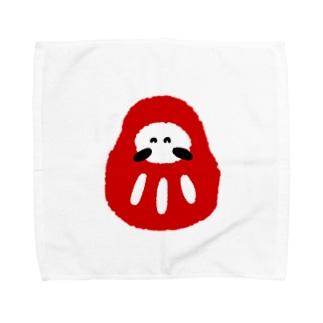 にこにこダルマさん Towel handkerchiefs