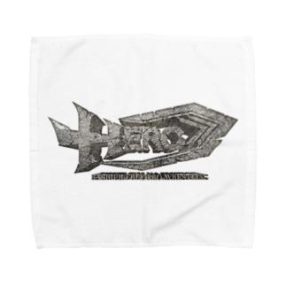 HERO立体ロゴ Towel handkerchiefs