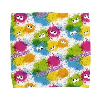 INK☆MONSTER Towel handkerchiefs