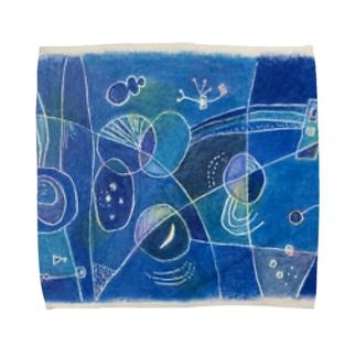 月がきれい Towel handkerchiefs