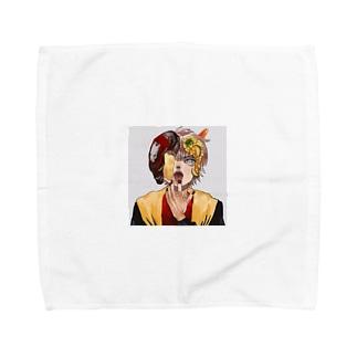 チーズインハンバーグ Towel Handkerchief