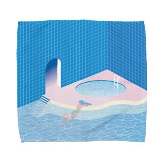 プラスチック・プールサイド Towel handkerchiefs