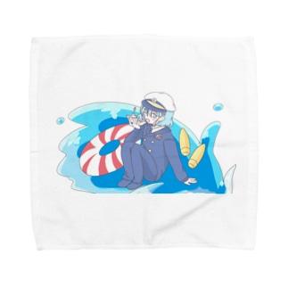 はねゆず(いただきます) Towel handkerchiefs
