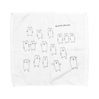 KUMATACHI Towel handkerchiefs