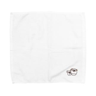 くうたんとお友達 Towel handkerchiefs
